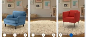 Augmented Reality App for Furniture