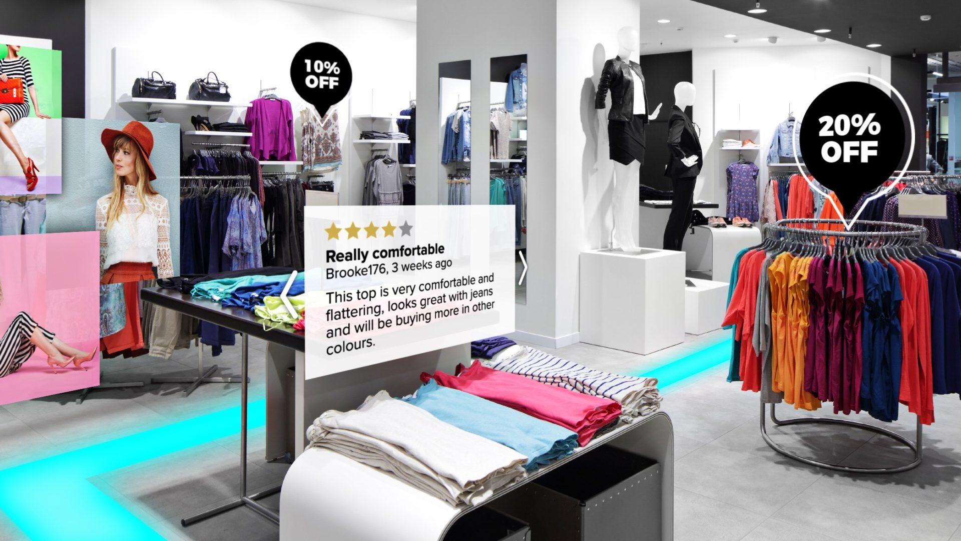 AR impact online shopping
