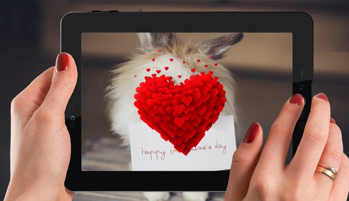 AR Valentine Card