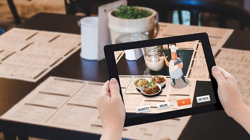 AR and VR for Restaurants