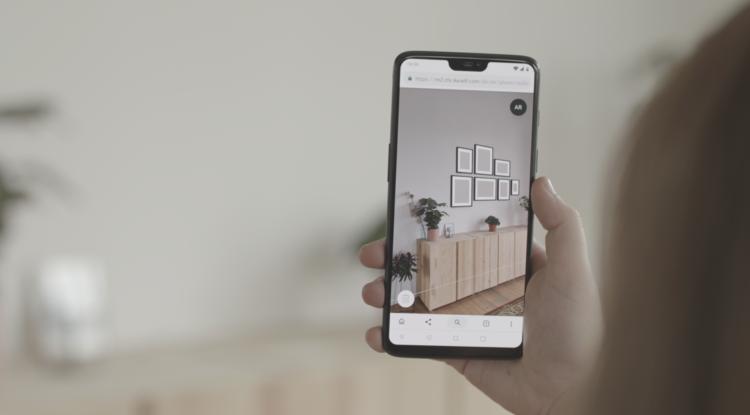 Zeal AR furniture app
